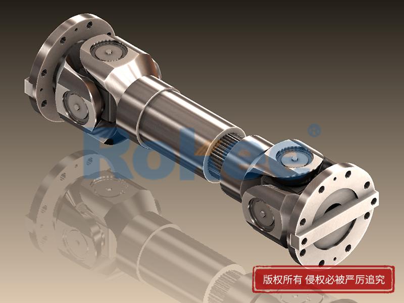 SWC-DH短伸缩焊接式十字万向联轴器
